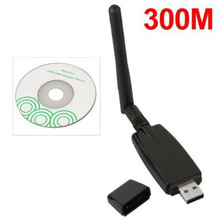 300Mbps 802.11n/g/b USB Wireless WIFI LAN Network Card Adapter