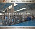 concentrado de polpas de frutas linha de produção