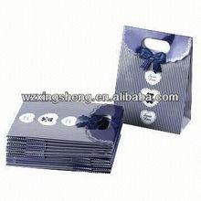2014 Wholesale!! fashion paper Gift shopping Bags for shoulder length handler paper bag