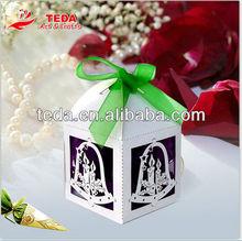 Bells Ring Elegant Chrismas decoration favor Box(ZH-108)