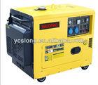 Small silent diesel generator,silent type generator,silent generator for home use