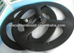 70mm clincher wheelsets 700c carbon rim 3 spokes bike rim carbon bicycle parts