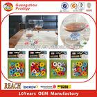 wholesale colorful EVA wine glass identifier, permanent glass marker