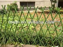 flower bamboo small garden fence