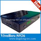 digital satellite internet receiver azclass/ vivo box s926 with IKS / sks decoder nagra3 stable than azamerica s930a hd tocomsat