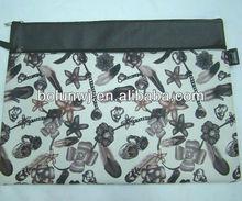 Fashionable Dye Printing leather portfolio ZD823