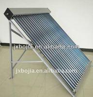 Vertical solar heater collector