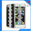 for iphone hard case,for iphone 5g epoxy gold plating plastic case