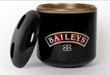 Bailey's black large premium luxury ice bucket bottle cooler