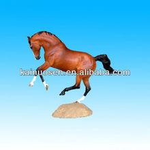 brown resin horse
