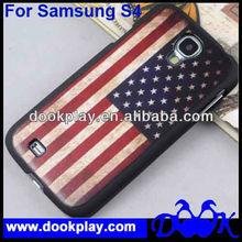 Retro US/UK Flag Cover Case for SAMSUNG GALAXY S4 SIV I9500