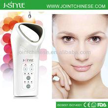 Hot portable Rechargeable IPL LED light photon galvanic microcurrent facial massage device