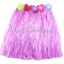 PAS-0686BK Fashion hawaiian hula dance skirt