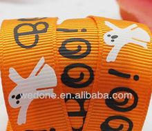 Halloween Printed Grosgrain Ribbon Wholesale