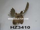 wall-mounted moose head, moose head decoration,brown moose head,artificial moose head
