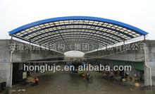 PVC corrugated roof panels resist high temperature