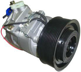 Air Conditioning Compressor for Benze Truck PV11 groove 5 cylinder 12V Pulley Diameter 135/130 R-134