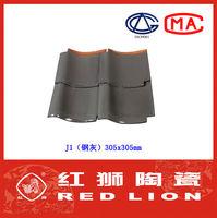 Grey color metal roof J1 eps sandwich roofing tiles