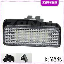 Error Free mercedes led number plate lamp car W203, W211,W219