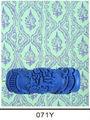 Rodillo de pintura de goma estampado para decoración