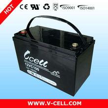 100Ah 12V panasonic car battery
