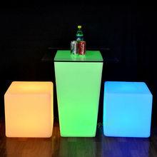 SZ-G3040-D37 LED Lounge Table