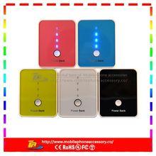 universal portable power bank 5200mah for smartphone
