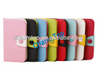 Candy Color Wallet Leather Cover For Samsung Galaxy S4 i9500