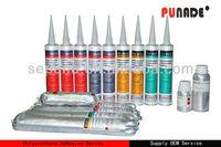 china supplier PU8610 Black color winshield bus glass PU adhesive sealant