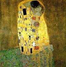 The kiss - Gustav Klimt - Hand painted oil paintings on canvas