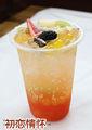 Mixed berry jugo concentrado, frutas té de hielo, té de frutas
