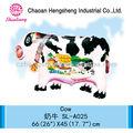 Selva decoração do partido balão de brinquedo inflável vaca
