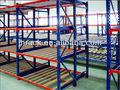 fluxo através de rack de armazenamento estantes prateleiras do armazém de logística de equipamentos do sistema de armazenamento