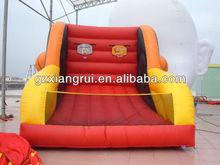 Commercial inflatable games, Popular Inflatable Basketball hoop/plastic basketball hoop
