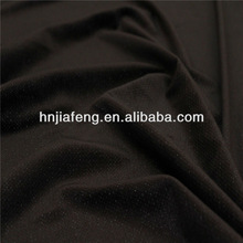 Chispa brillante terciopelo súper blando de tela para prendas de vestir, textiles para el hogar, los zapatos