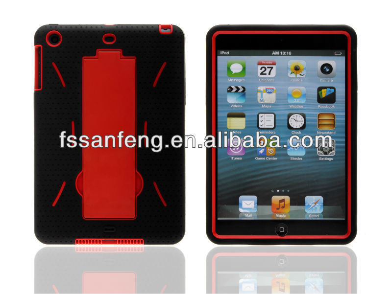 Hot Sale Combo Case For Ipad Mini Cover/Robot Case For Ipad Mini