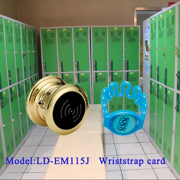Electronic locks for lockers