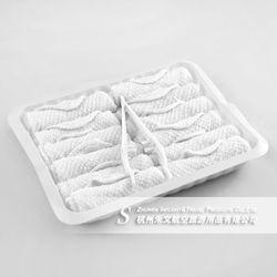 2013 hangzhou textile airline disposable organic cotton towel
