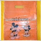 Custom print plastic shopping bags