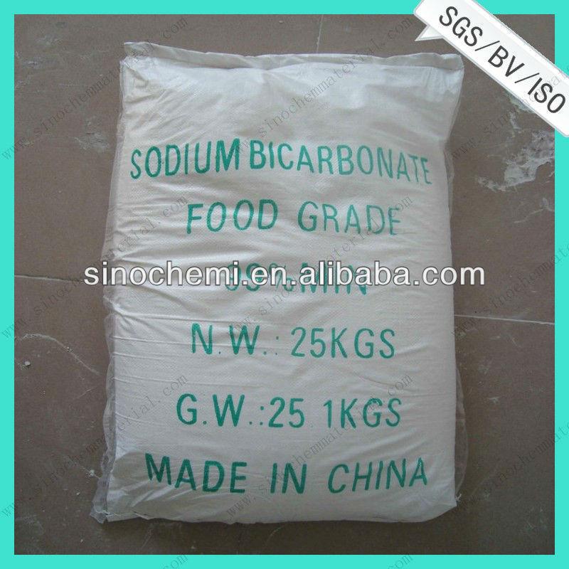 El bicarbonato de sodio fórmula química