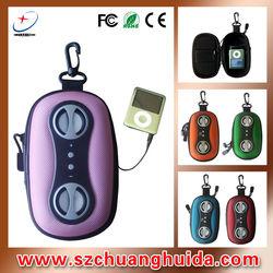 2013 custom made shockproof EVA speaker bag colorful