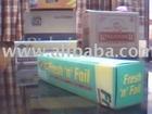 Cardboard Box, Aluminium Foil Packets