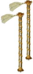 Dandiya-Wooden Sticks For Gujarati Folk Dance Garba Home Decoration Wooden Craft