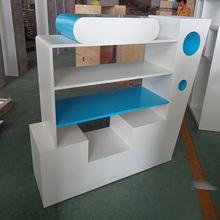 Kaierda Modern MDF Retail Shop Cosmetic Display Cabinet