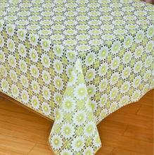 wholesale vinyl lace table cloth pvc printed tablecloth