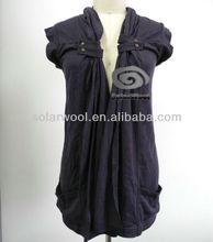100% superfine merino wool casual dress