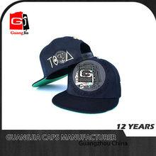 New York Flat Visor Billboard Style Snapback Hat Cap Black and blue- Knicks and Mets Color