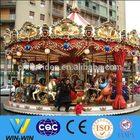 professional amusement rides manufacturer luxury 24seats carousel horses