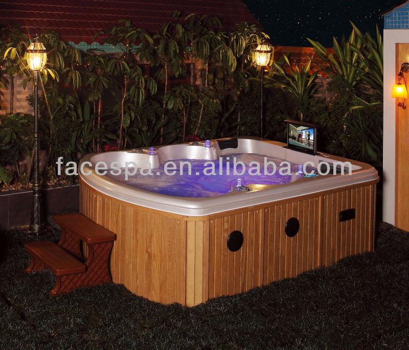 Hot Tub Outdoor Spas Luxury Hydrotherapy Massage Bathtub