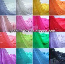 las mujeres blusa/camisas/vestidos de gasa tela